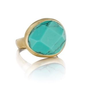 Chloe + Isabel Jewelry - Chloe + Isabel Minaret Faceted Turquoise Ring, Sz7
